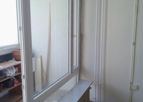 Výměna oken v bytě panelového domu - 4ks.