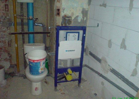 Rekonstrukce ZTI,plynu v bytě