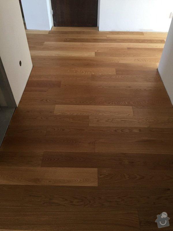 Dřevěná podlaha 70m2 - materiál + pokládka + nivelace: 2015-08-07_14.45.31