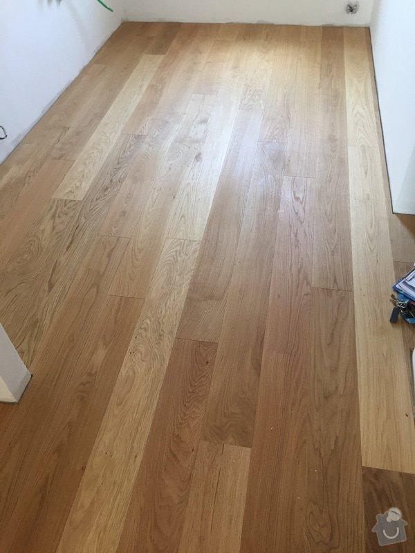 Dřevěná podlaha 70m2 - materiál + pokládka + nivelace: 2015-08-07_14.41.11