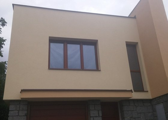 Zateplení fasády + klempířské práce - Klínec