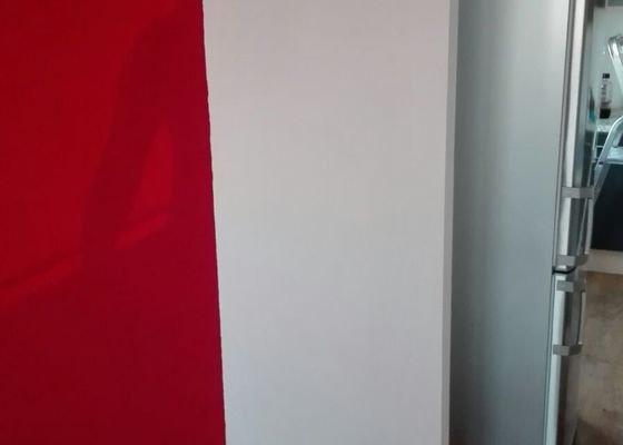 Malířské práce, vytvoření sádrokartonové příčky