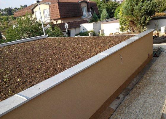 Extenzivní střecha na garáži