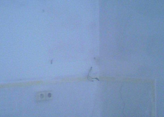 Malířské práce (byt 1+1)