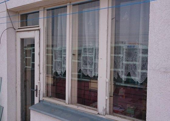 Natření oken a dveří