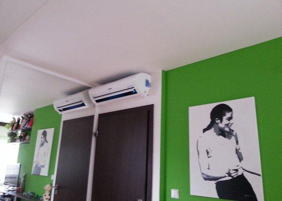 Klimatizace podkrovi