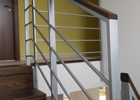 Kovové schodiště RD Hynek Brazdil