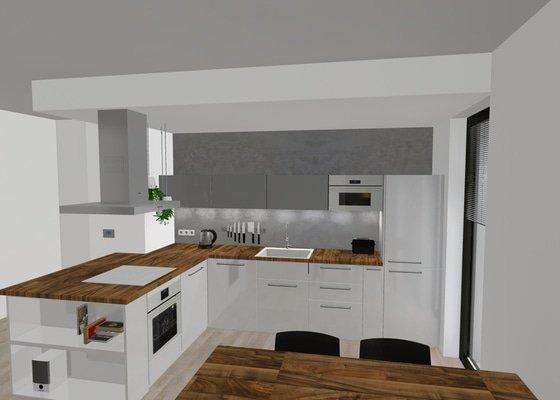 Cementová/epoxidová stěrka do kuchyně
