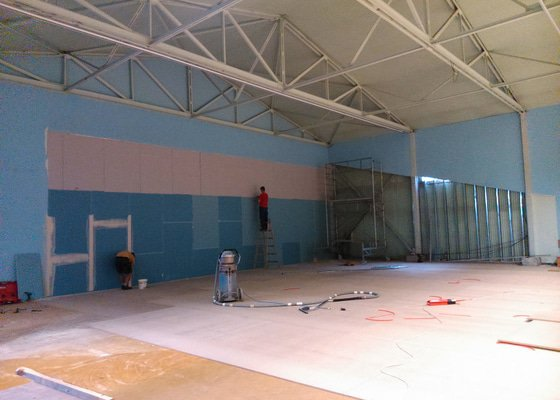 Rekonstrukce Sportcentra Ivanovice