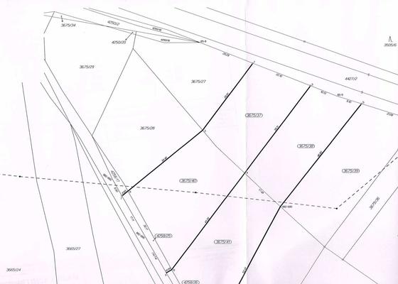 Geometrický plán/zeměměřictví