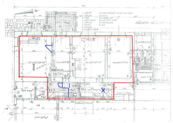 Rekonstrukce interiéru domu