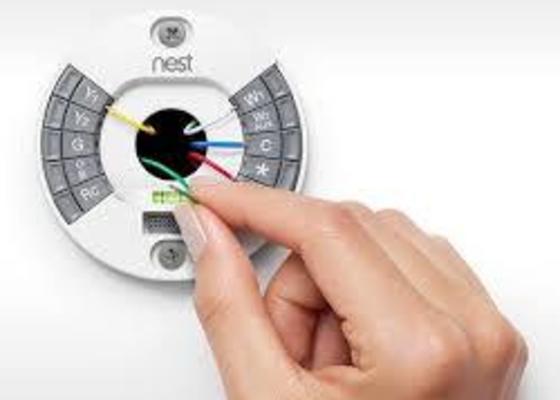 Zapojení termostatu Nest
