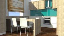 Návrh interiéru pro rodinný dům
