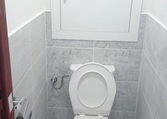 Rekonstrukce koupelny a WC v panelovém domě