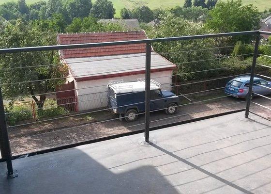 Výroba a montáž balkonového zábradlí
