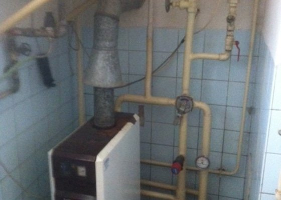 Oprava plynového kotle