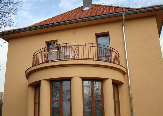 Výměna oplechování balkonu/terasy