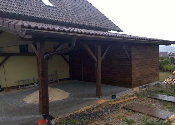 Zhotovení garážového stání a kolny