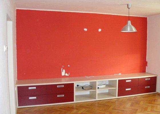 Malířské práce vč. škrabání - 1 pokoj