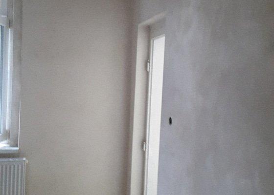 Štukování bytu 2+1
