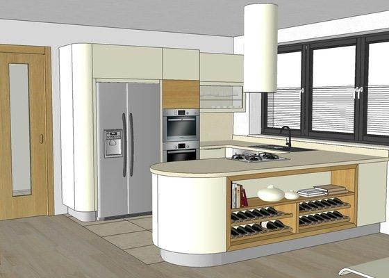 Poptáváme výrobu a montáž kuchyně