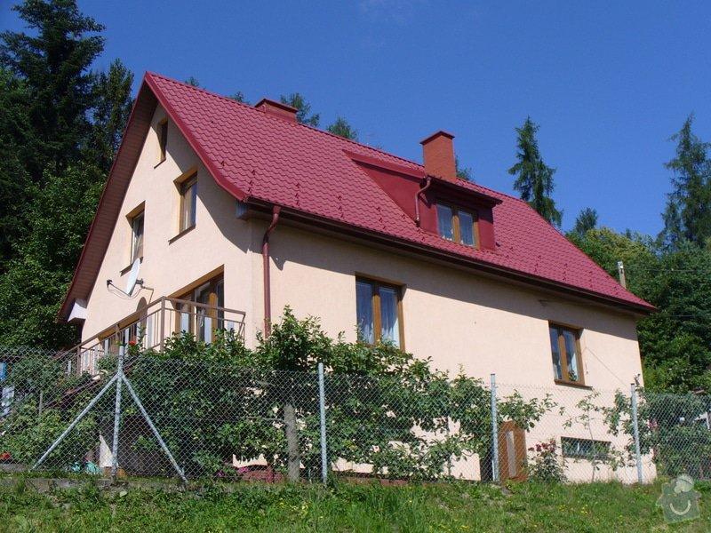 Rekonstrukce sedlové střechy na RD, včetně zateplení (190m²): P1020077