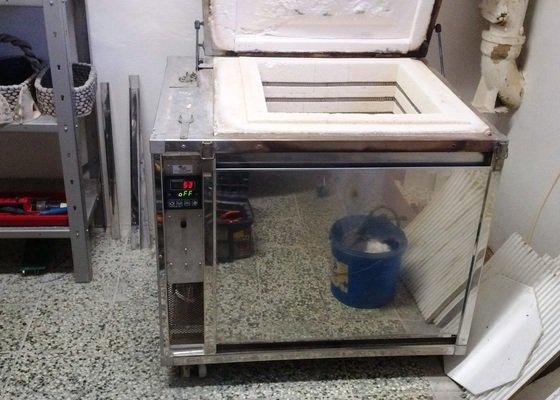 Oprava elektrické pece NAUM