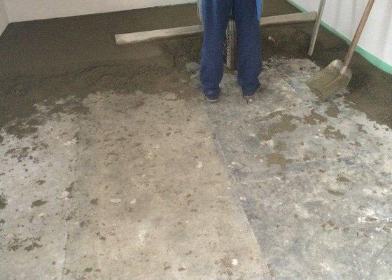 Betonovou podlahu