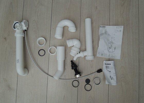 Zapojení myčky na nádobí + montáž odpadu pod dřezem