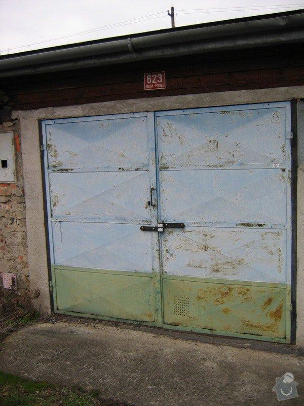 Pokrytí střechy garáže novou krytinou: 008