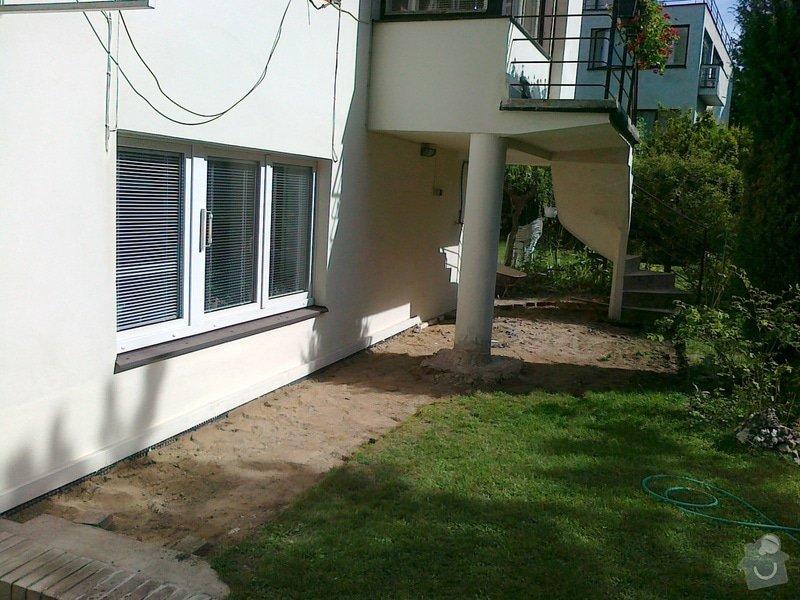 Rekonstrukce cihlové dlažby na zahradě 23 m2: 270820151622