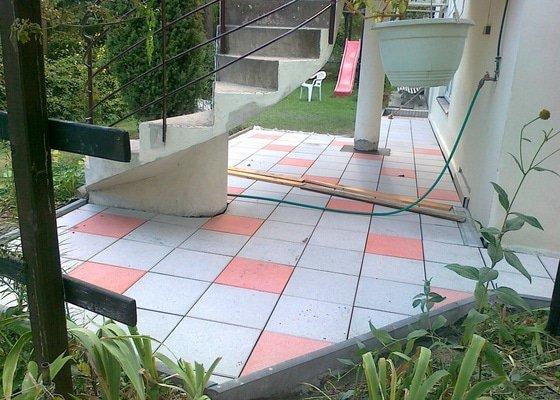 Rekonstrukce cihlové dlažby na zahradě 23 m2