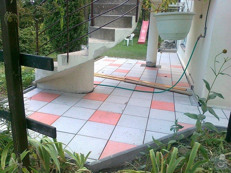 Rekonstrukce cihlové dlažby na zahradě 23 m2: 030920151649