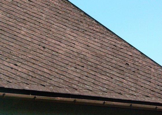 Opravu střechy na rodinném domě