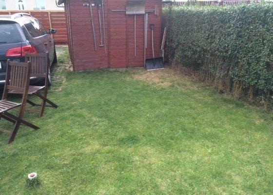 Zastreseni zahradni terasy