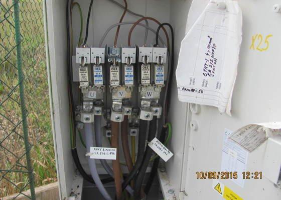 Zabudování elektroměrového rozvaděče ER212/NKP7P + revize zapojení