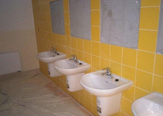 Rekonstrukce sociálních zařízení na ZŠ