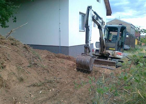 Zemní práce - úprava pozemku