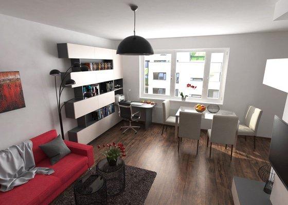 Návrh zařízení obývacího pokoje