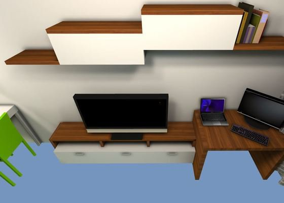 Obyvacia stena - vyroba nabytku