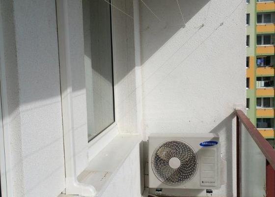 Instalace klimatizace Samsung do panelového domu.