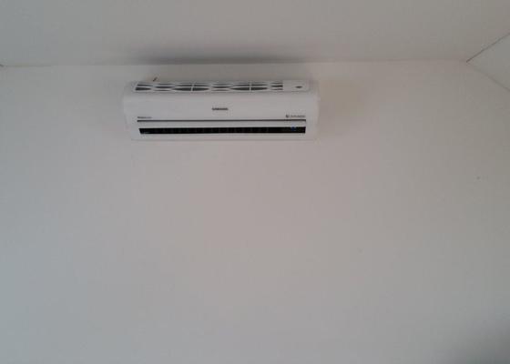 Instalace klimatizace Samsung do řadového domu.