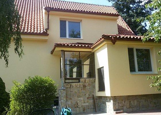 Zateplení fasády - Šestajovice - Praha