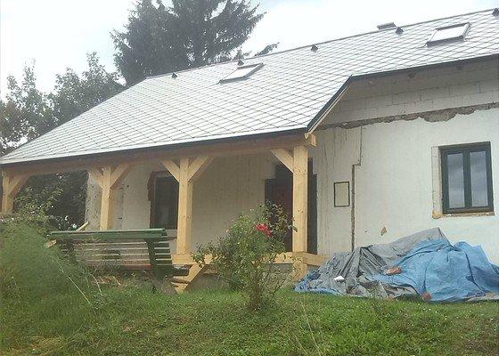Rekonstrukce střechy, komínu