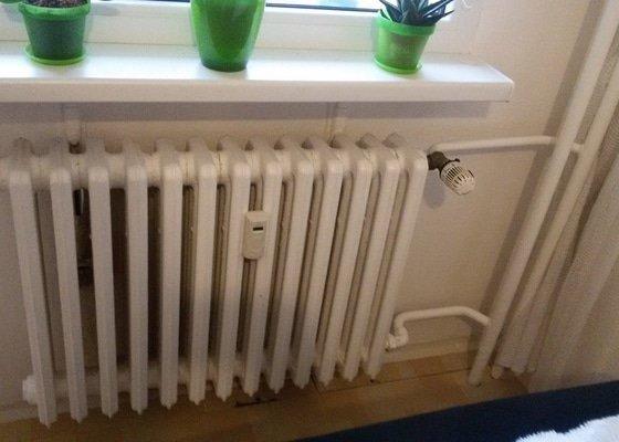 Výměna panelákového topení, a kombi wc