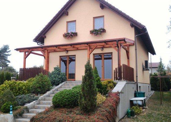 Zastřešení terasy rodinného domu