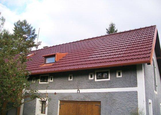 Rekonstrukce střechy chalupy
