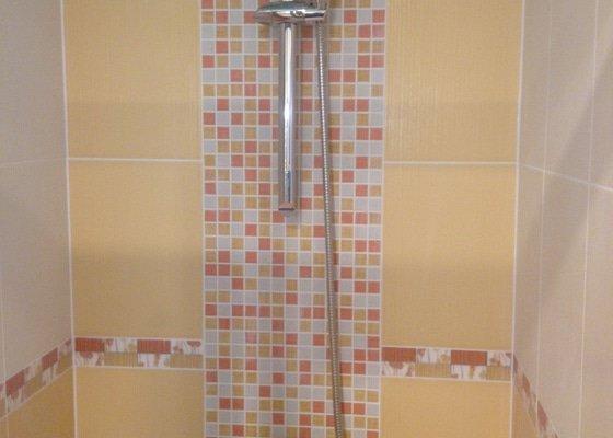 Rekonstrukce bytového jádra - zakomponování vany a sprchového koutu
