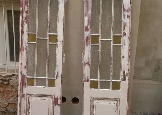 Renovace starých dveří