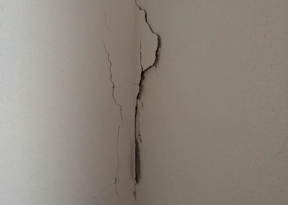 Oprava a vybílení stěn